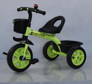 Велосипед 3-х колесный  GOLF TRIKE LTE-601 (1/5) зеленый (упаковка 5шт)