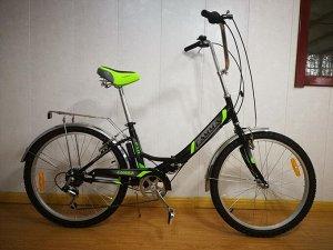 """Велосипед Гамма 24"""" 6 ск. (черный)"""