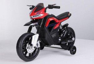 Мотоцикл на аккумуляторе для катания детей JT5158 (красный)
