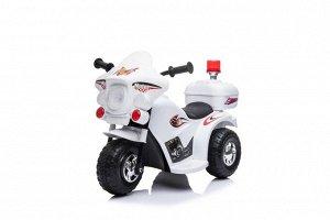 Мотоцикл на аккумуляторе для катания детей MT88 (белый)