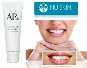 Nuskin отбеливающая зубная паста фторид AP24  #110g
