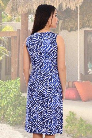 Сарафан Бренд: Натали Ткань: кулирка СОСТАВ: 100% хлопок Платье отрезное по линии талии, без рукавов, с двумя бантовыми складками на юбке
