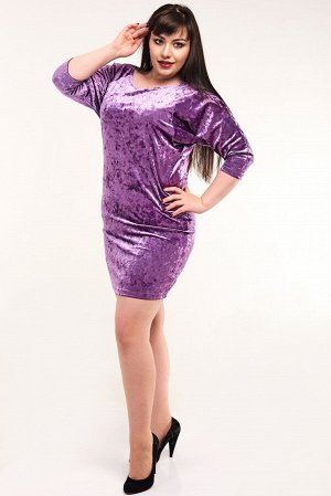 Платье велюр 8Пл01