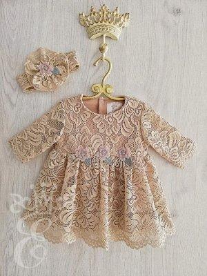 Платье кружевное Ободок кружевной 91068ПОб