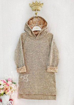 Платье с капюшоном 91069-1Пб