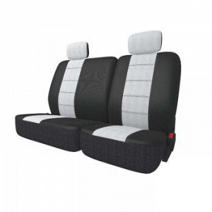 Чехлы Carfort NeoClassic комплект для дивана 60/40, серый, 9 предм.(1/7)