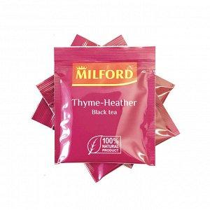 Чай чёрный MILFORD Чабрец-Цветки Вереска 1 пакетик