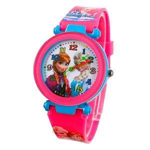 """Часы детские на силиконовом ремешке """"Принцессы"""""""