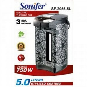 Поттер чайник-термос (термопот) Sonifer, 3 способа подачи воды, мощность 750w, объем 5.0л SF-2055-5L