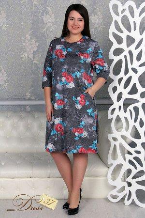 Платье «Стингер» цветы