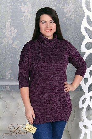Пуловер «Олеся» бордо
