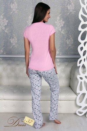 Пижама «Сердечки» брюки