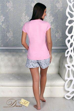 Пижама «Сердечки» шорты