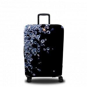 Чехол для чемодана Бриллианты