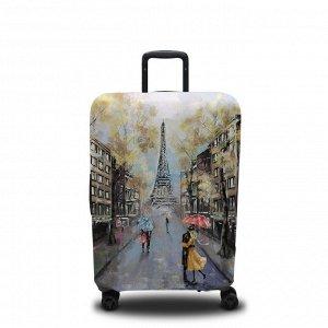Чехол для чемодана Дождь в Париже