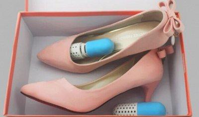 Стельки, Корректоры, Буссопротекторы - Всё для здоровья ног — Поглотитель запаха обуви сиккатив форма капсулы — Для ухода за обувью