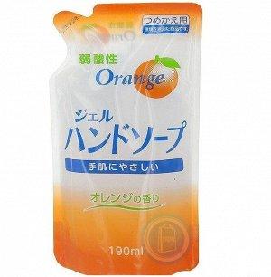 80049er Гель-мыло для рук с ар. апельсина (сменная упаковка), 200 мл