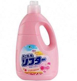 """""""Mitsuei"""" Кондиционер для белья с ароматом белых цветов 2л"""