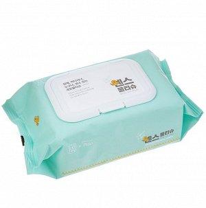 Влажные салфетки для лица и тела Secretday Sense, 100 шт. Корея