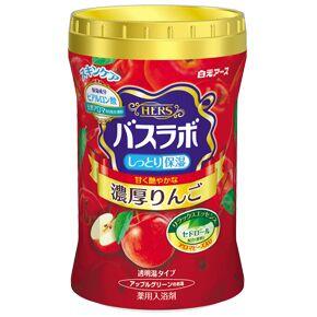 """""""Hakugen Earth"""" """"HERS Bath Labo"""" Увлажняющая соль для ванны с гиалуроновой кислотой (с ароматом яблока), банка 640 гр."""