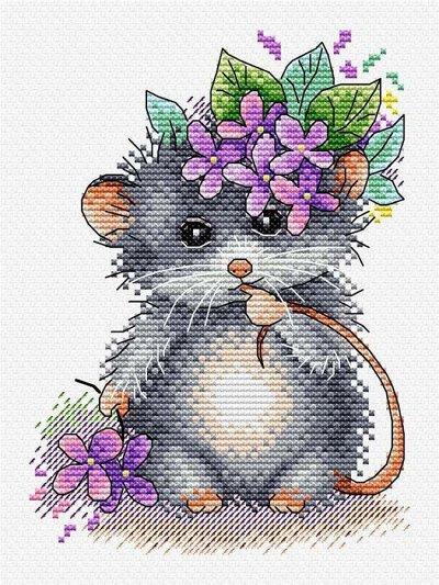 №48 Хомяк. Творчество летом — Мыши — Хобби и творчество