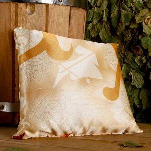Подушка сувенирная, 22?22 см,  лаванда, можевельник, микс