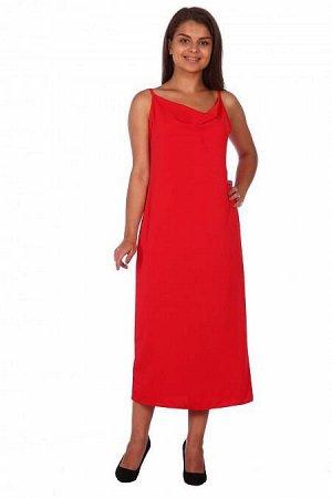 Платье Камилла (3283). Расцветка: алое