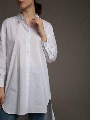 Хлопковая рубашка B2519/amina