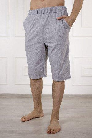 Шорты 875 эрик (серый) с карманом