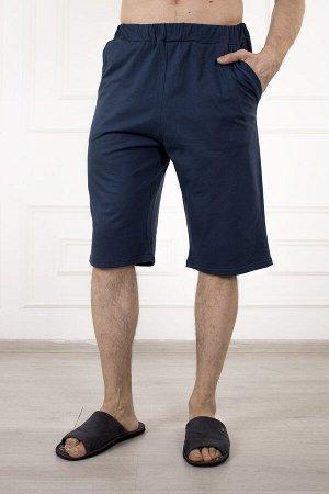 Шорты 876 эрик (синий) с карманом