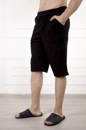 Шорты 874 эрик (черный) с карманом