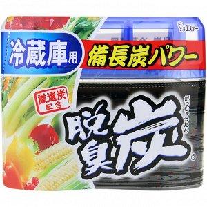"""""""ST"""" """"Dashshuutan"""" Желеобразный дезодорант с древесным углем """"Бинчотан"""" для холодильника (основная камера) 140 г."""