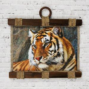 """Сувенир свиток """"Тигр """""""