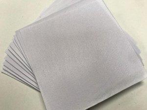 Фетр 1 мм жесткий 10 листов цвет белый