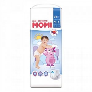 MOMI High Standard подгузники-трусики XL (12-20 кг), 38 шт