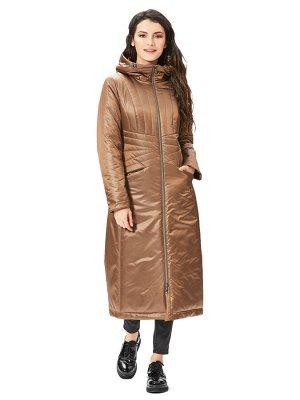 """Пальто """"Артико""""  коричневый"""