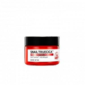 Some By Mi Snail Truecica Miracle Repair Cream - Восстанавливающий крем с муцином чёрной улитки 60г