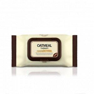 Calmia Oatmeal Therapy Cleansing Tissue - Очищающие салфетки для снятия макияжа 120 шт.
