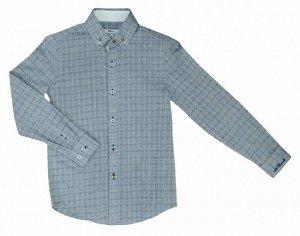 Borelli Рубашка с узором ромб