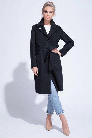 Пальто Черный.