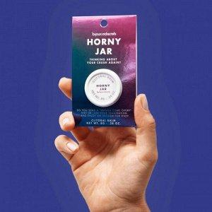 Horny jar · clitoral balm. клиторальный бальзам.