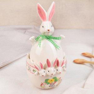 Конфетница «Пасхальный кролик», 14?11?24 см