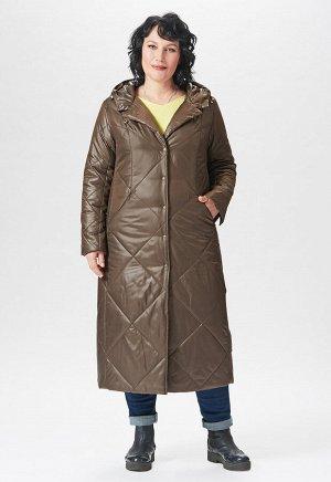 """Пальто """"Палома""""  коричневый"""