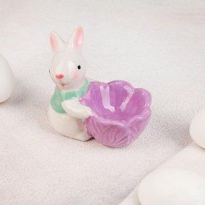 Подставка для яйца «Зайчонок», 8?5,5?7 см, цвет МИКС
