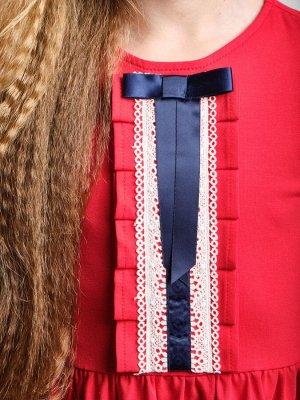Платье (98-122см) UD 6887(2)красный