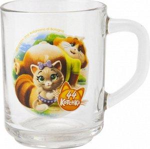 """Кружка """"44 Котенка"""", мал., 250 мл, стекло"""