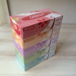 Салфетки бумажные в коробке с маркировкой «ORIENT» (Япония)