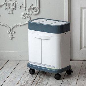 Сортировочное мусорное ведро 40-20