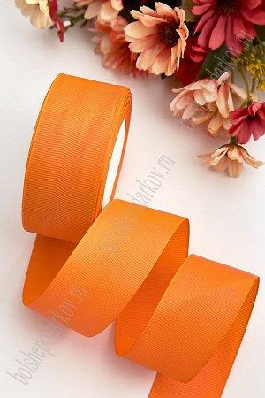 Лента репсовая 4 см (SF-3452) оранжевый №24