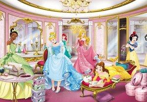 """8-4108 Фотообои KOMAR """"Принцессы в зеркальной комнате"""" 368смх2,54м бумажные"""